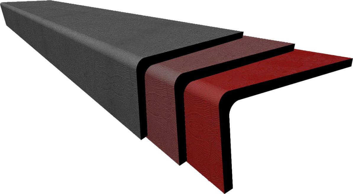 Ступени из фибробетона для крыльца заменитель бетона купить в перми